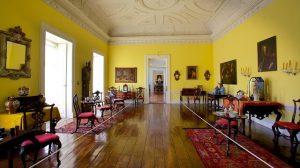 Interior do Palácio dos Biscainhos em Braga