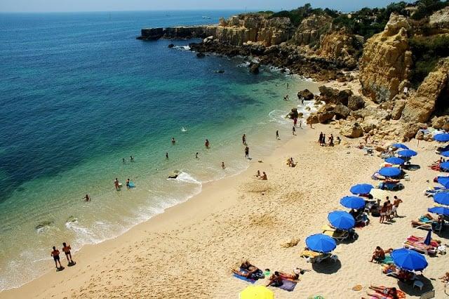 Praia do Castelo em Albufeira