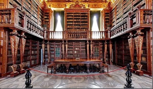 História da Biblioteca Joanina em Coimbra