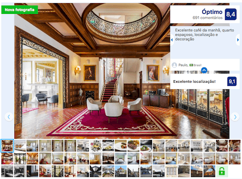 Hotel Infante de Sagres no Porto
