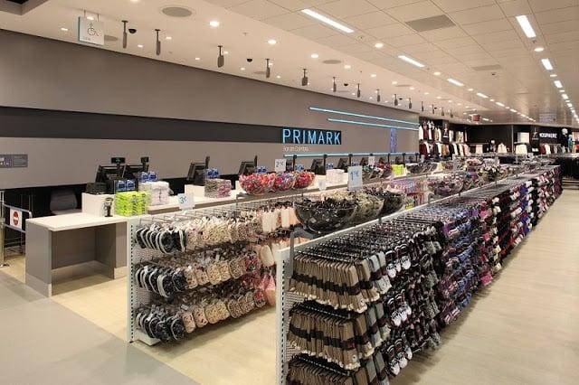 Localização das lojas Primark em Lisboa
