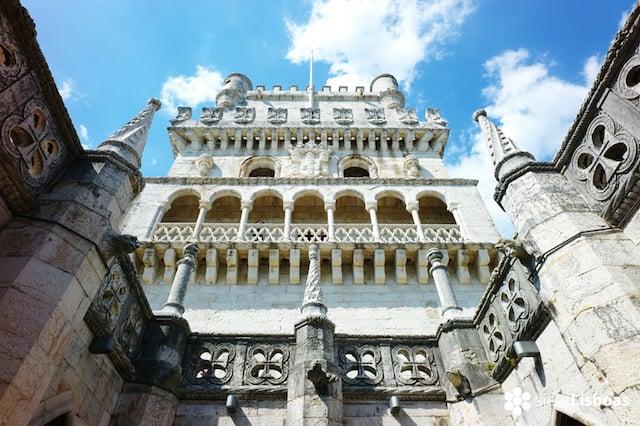Fachada da Torre de Belém