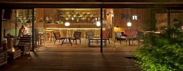 Interior Park Bar em Lisboa
