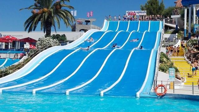 Slide & Splash no Algarve