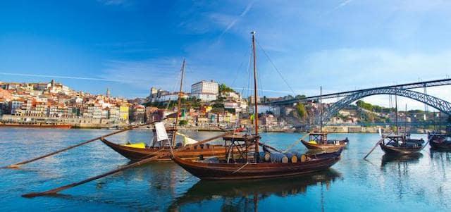 Cruzeiro pelas seis pontes no Porto