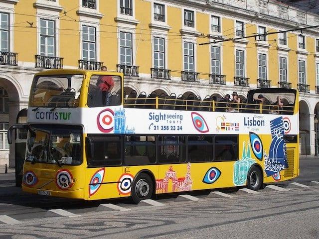 Ingressos para o Ônibus Hop On Hop Off em Lisboa