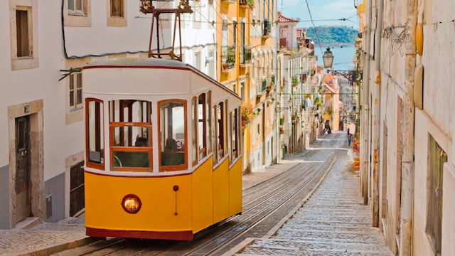 Excursão de elétrico por Lisboa