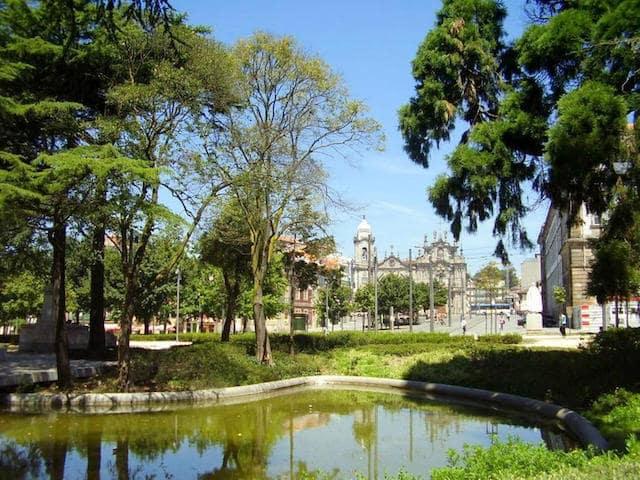 Jardim da Cordoaria no Porto