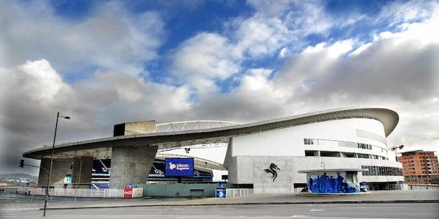 Estádio do Dragão no Porto