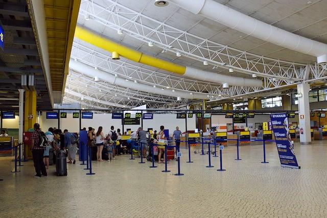 Aeroporto de Faro no Algarve