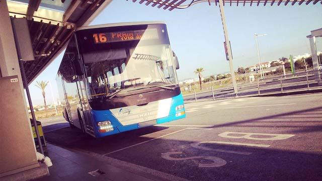 Ônibus do aeroporto de Faro até o centro