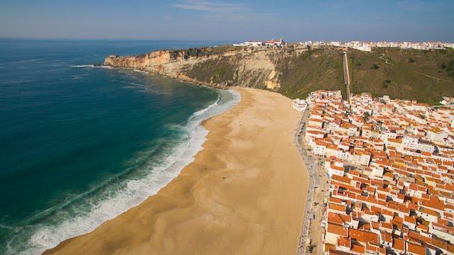 Nazaré em Portugal