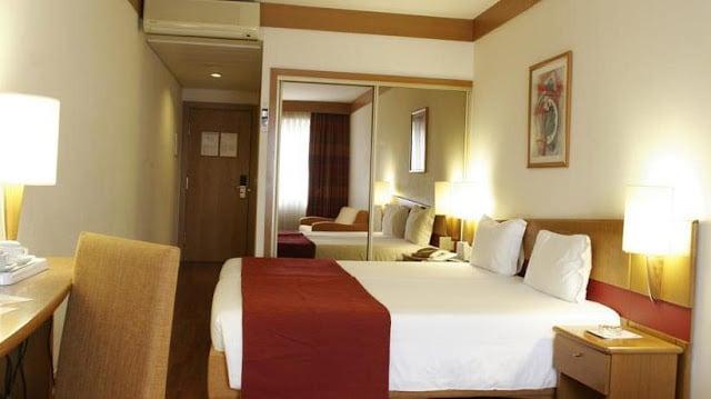 Hotel Quality Inn no Porto - quarto
