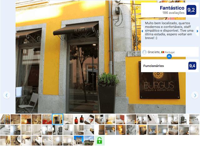 Burgus Tribute & Design Hotel em Braga