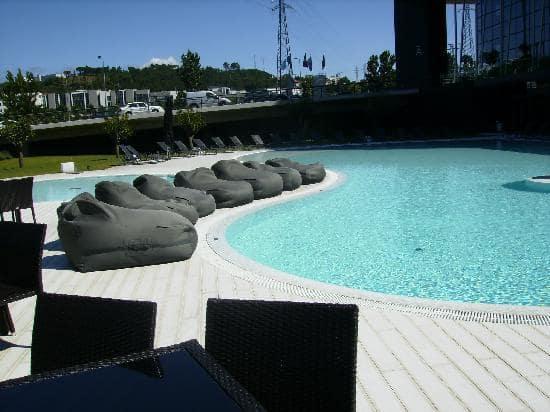 Melhores hotéis em Braga - Piscina do Melia