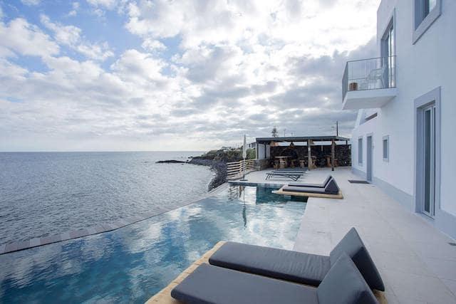 Hotel de luxo nos Açores