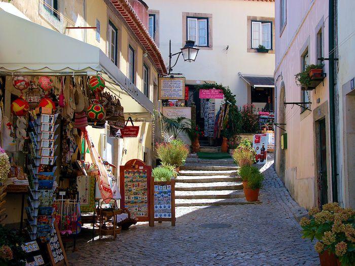 Centro de Sintra - lojas típicas