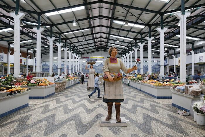 Mercado do Livramento em Setúbal