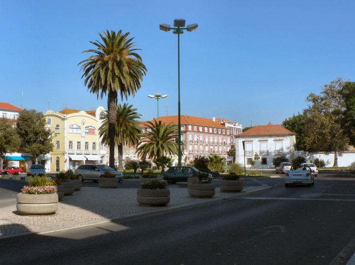 Avenida Luisa Todi em Setúbal