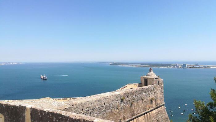 Vista do Forte de S. Filipe