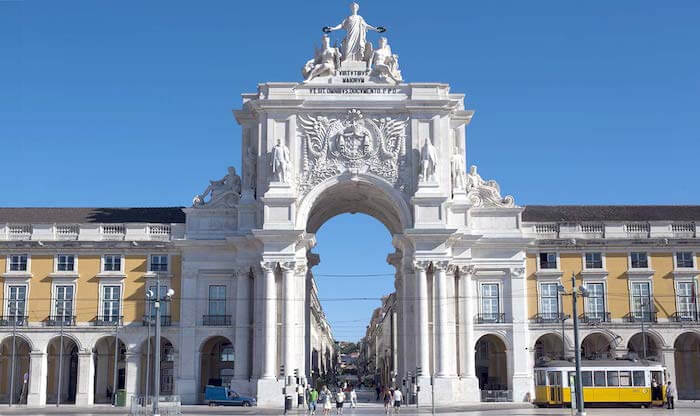 Arco da Rua Augusta - Praça do Comércio
