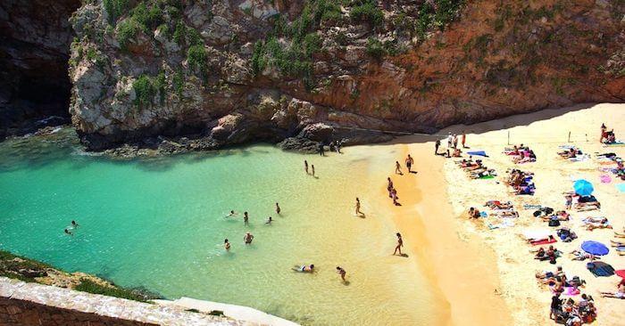 Melhores praias de Setúbal - Praia de Galapinhos