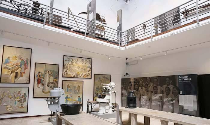 Museu do Trabalho - exposição