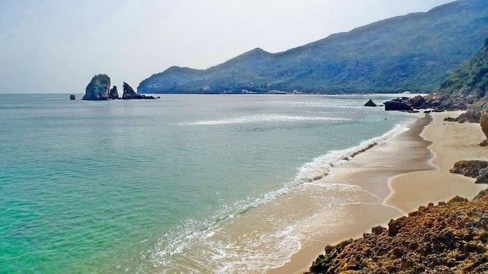 Praia do Creiro em Setúbal