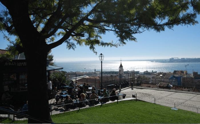 Vista Miradouro Santa Catarina
