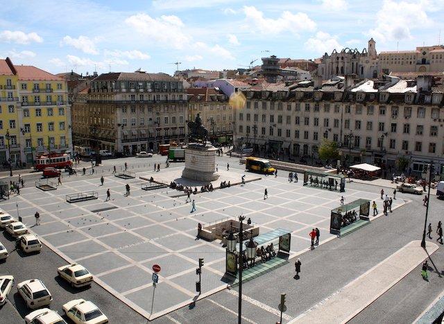 Praça da Figueira em Lisboa