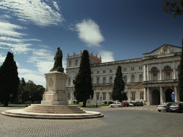 Palácio Nacional da Ajuda em Lisboa