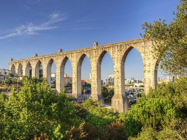 Aqueduto das Águas Livres em Lisboa