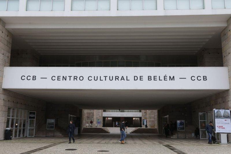 Entrada do Centro Cultural de Belém em Lisboa