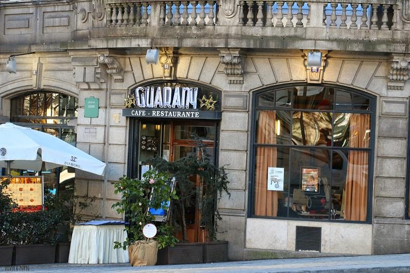 Café Guarany na Avenida dos Aliados no Porto