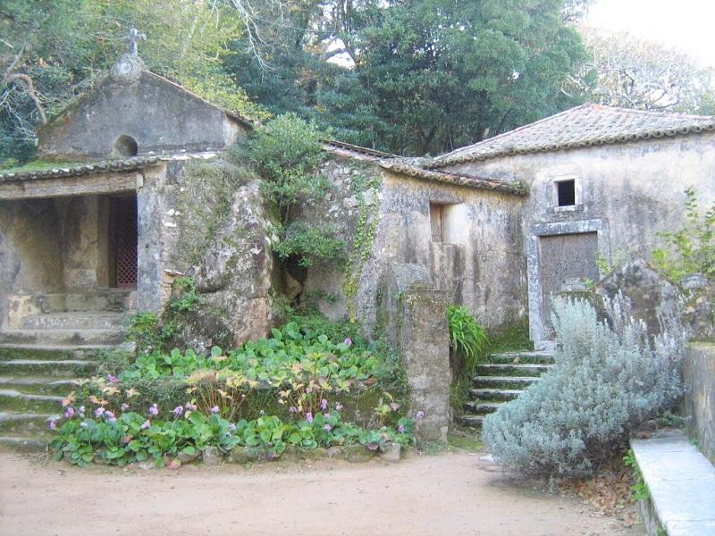 Entrada do Convento dos Capuchos em Sintra