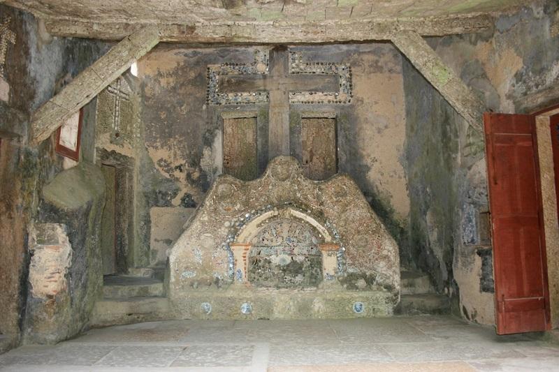 Interior do Convento dos Capuchos em Sintra