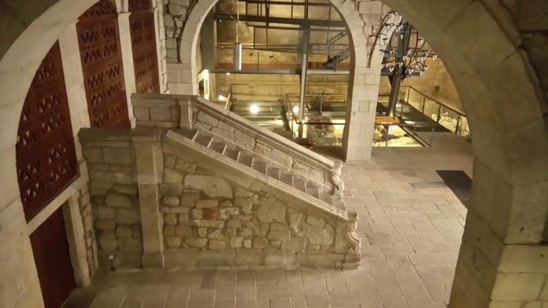 Interior da Casa dos Infantes no Porto