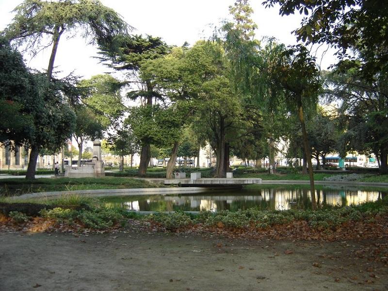 Jardim João de Chagas no Porto