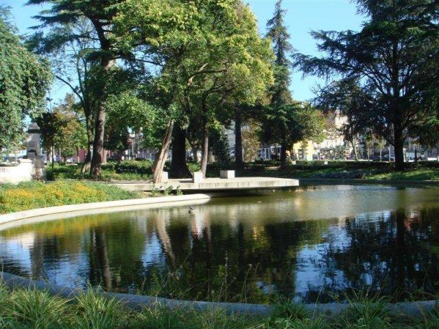 Jardim de João Chagas no Porto