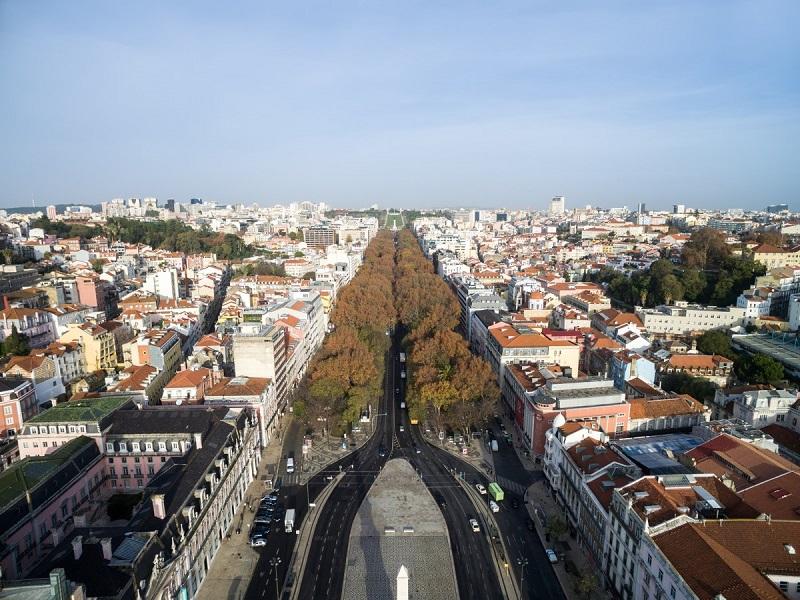 Avenida da Liberdade em Lisboa