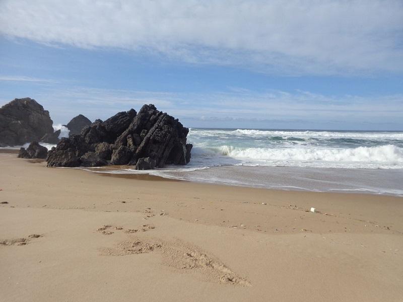 Praia do Abano em Sintra