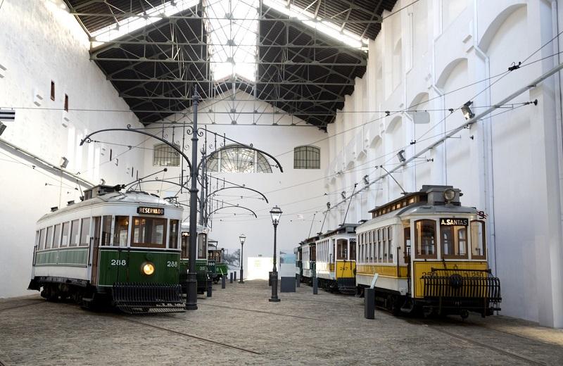 Museu do Carro Elétrico no Porto