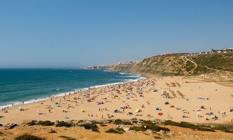 Praia da Foz do Lizando em Sintra