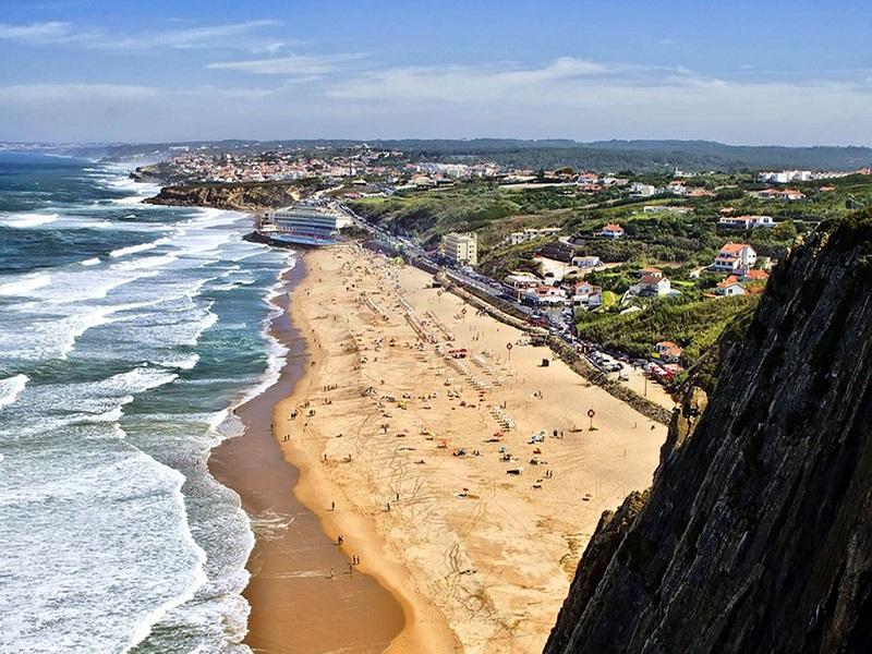 Vista da Praia Grande em Sintra