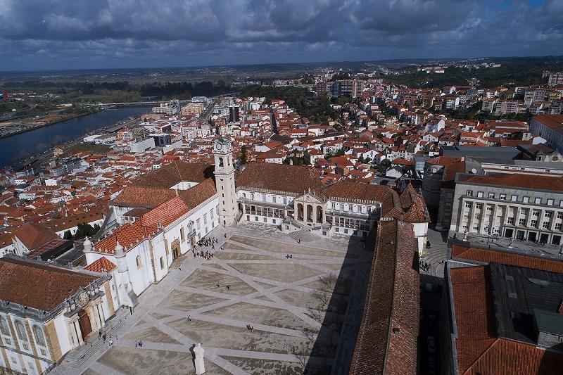 Universidade de Coimbra vista do alto