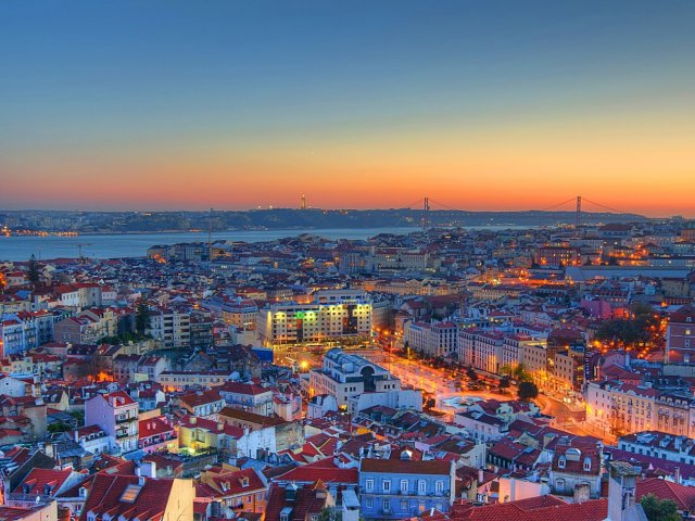 Remessa internacional para Lisboa