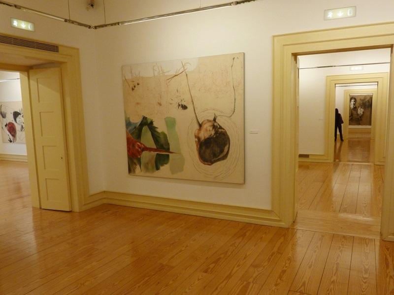 Obra exposta no Centro de Arte Contemporânea Graça Morais