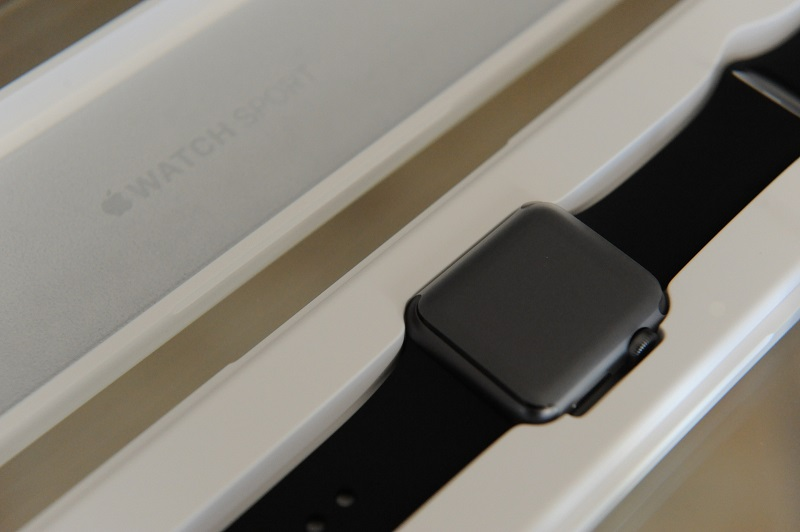 Apple Watch na caixa