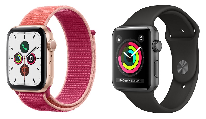 Apple Wath Seires 5 e Series 3