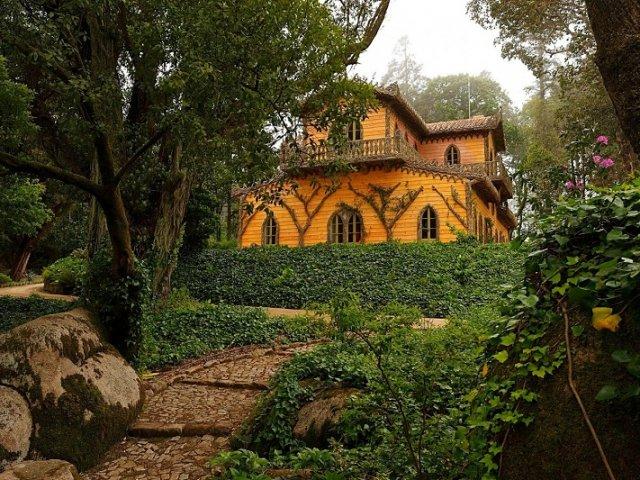Chalet e Jardim da Condessa D'Edla em Sintra